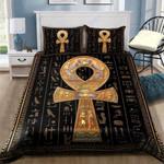 Custom Bedding Ancient Egypt Ankh Bedding Set