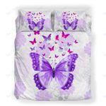 Custom Bedding Floral Butterfly Bedding Set