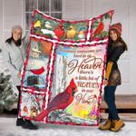 Custom Blanket Cardinal Birds Blanket - Fleece Blanket