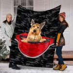 Custom Blanket Berger Picard Dog Blanket - Fleece Blanket
