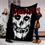 Custom Blanket Misfits Splatter Blanket - Fleece Blanket