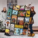 Custom Blanket Dachshund Dog Blanket 2 - Fleece Blanket