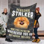 Custom Blanket Pekingese Dog Blanket  - Fleece Blanket