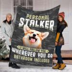 Custom Blanket Corgi Dog Blanket - Fleece Blanket #83938