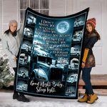 Custom Blanket Trucker Blanket - Perfect Gift For Hubby Blanket - Fleece Blanket