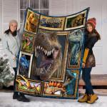 Custom Blanket 3D Dinosaur Blanket - Gift For Son - Fleece Blanket