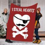 Custom Blanket Kids Valentines Day A Great Gift Blanket - Perfect Gift For Valentine - Fleece Blanket