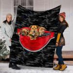 Custom Blanket Plott Hound Dog Blanket - Fleece Blanket