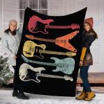 Custom Blanket Guitar Blanket - Fleece Blanket