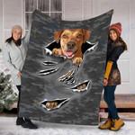 Custom Blanket Kim Burbank Frick Dog Blanket - Fleece Blanket