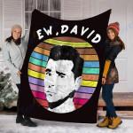 Custom Blanket Ew, David Rose Blanket - Fleece Blanket