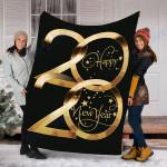 Custom Blanket Happy New Year 2020 Blanket - Fleece Blanket