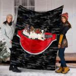 Custom Blanket Papillon Dog Blanket - Fleece Blanket