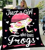 Custom Blanket Frogs Blanket - Perfect Gift For Girl - Fleece Blanket