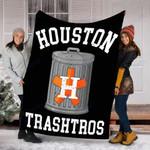 Custom Blanket Houston Trashtros Blanket - Fleece Blanket #18390