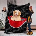 Custom Blanket Havanese Dog Blanket - Fleece Blanket #79941