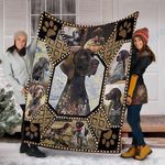 Custom Blanket German Shorthaired Pointer  Dog Blanket - Fleece Blanket