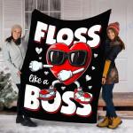 Custom Blanket Valentines Day Blanket - Perfect Gift For Valentines Day - Fleece Blanket