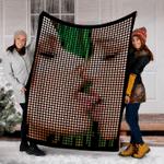 Custom Blanket Lesbian Sex Hot Girl Blanket - Fleece Blanket