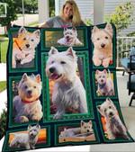 Custom Blanket West Highland White Terrier Blankets - Fleece Blanket