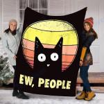 Custom Blanket Ew, People Blanket - Fleece Blanket