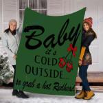 Custom Blanket BABY REDHEAD Blanket - Fleece Blanket