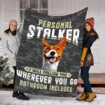 Custom Blanket Basenji Dog Blanket - Fleece Blanket #57562