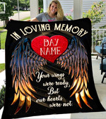 Custom Blanket In Loving Memory Personalized Name Blankets - Fleece Blanket