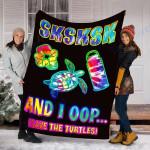 Custom Blanket Tie Dye SKSKSK Blanket - Fleece Blanket