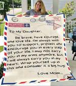 Custom Blanket Letter To My Daughter Blanket - Gift For Daughter #97458