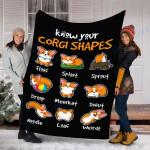 Customs Blanket Corgi Dog Blanket - Perfect Gift For Son - Fleece Blanket