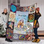 Custom Blanket March Girl The Soul Of A Gypsy Blanket - Fleece Blanket