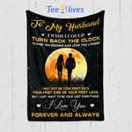 Custom Quilt Blanket To My Husband Blanket - Quilt Blanket #32450
