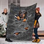 Custom Blanket Dachshund Dog Blanket - Fleece Blanket #53287