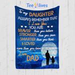 Custom Quilt Blanket To My Daughter Blanket - Gift For Daughter - Quilt Blanket #28711
