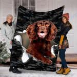 Custom Blanket  Boykin Spaniel Dog Blanket - Fleece Blanket