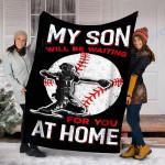 Custom Blanket Baseball Blanket - Fleece Blanket #35570