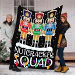 Custom Blanket Nutcracker Squad Christmas Blanket - Fleece Blanket