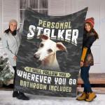 Custom Blanket  Whippet Dog Blanket - Fleece Blanket