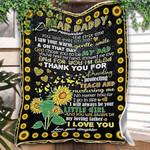 Custom Blanket To My Dad Blanket - Gift For Dad - Fleece Blanket #85421