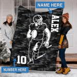 Custom Blankets Football Personalized Blanket - Fleece Blanket #10458