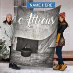 Custom Blankets Hockey Personalized Blanket - Fleece Blanket #26859