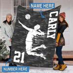 Custom Blankets Volleyball Personalized Blanket - Fleece Blanket #92602