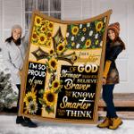 Customs Blanket DAUGHTER OF GOD Blanket - Fleece Blanket