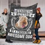 Customs Blanket Lakeland Terrier Dog Blanket - Fleece Blanket