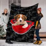 Custom Blanket Kooikerhondje Dog Blanket - Fleece Blanket