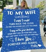 Custom Blankets To My Wife Personalized Blanket - Gift For Wife - Fleece Blanket #37201