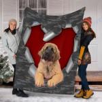 Customs Blanket Leonberger Dog Blanket - Fleece Blanket #55830