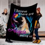 Customs Blanket Pug Angels Among Us Classic Dog Blanket - Fleece Blanket