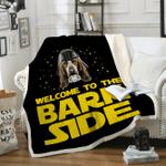 Custom Blankets Basset Hound Blanket - Fleece Blanket